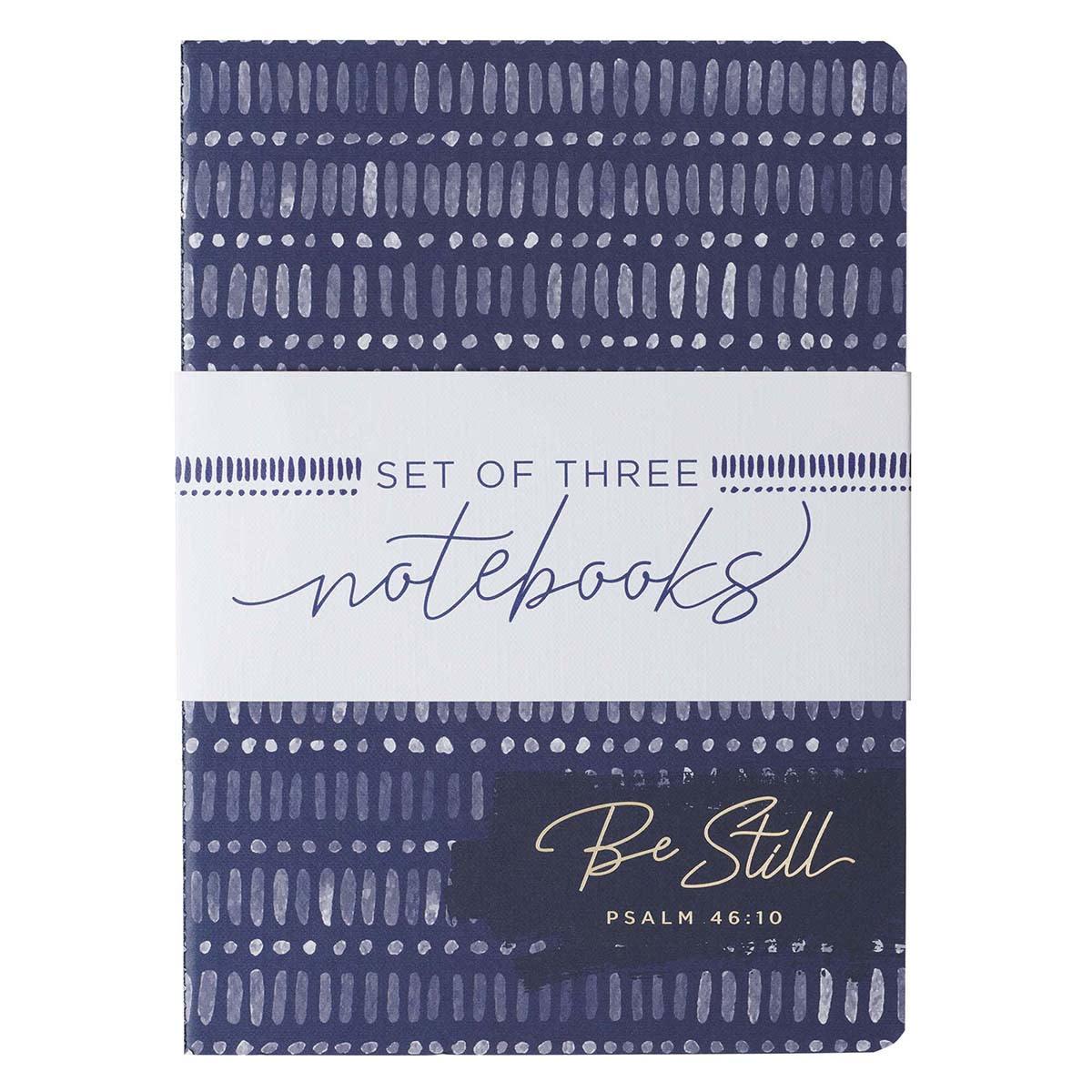 Journal Blue Be Still Strong Joyful