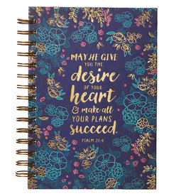 Desires Of Your Heart (Psalm 20:4) Large Journal
