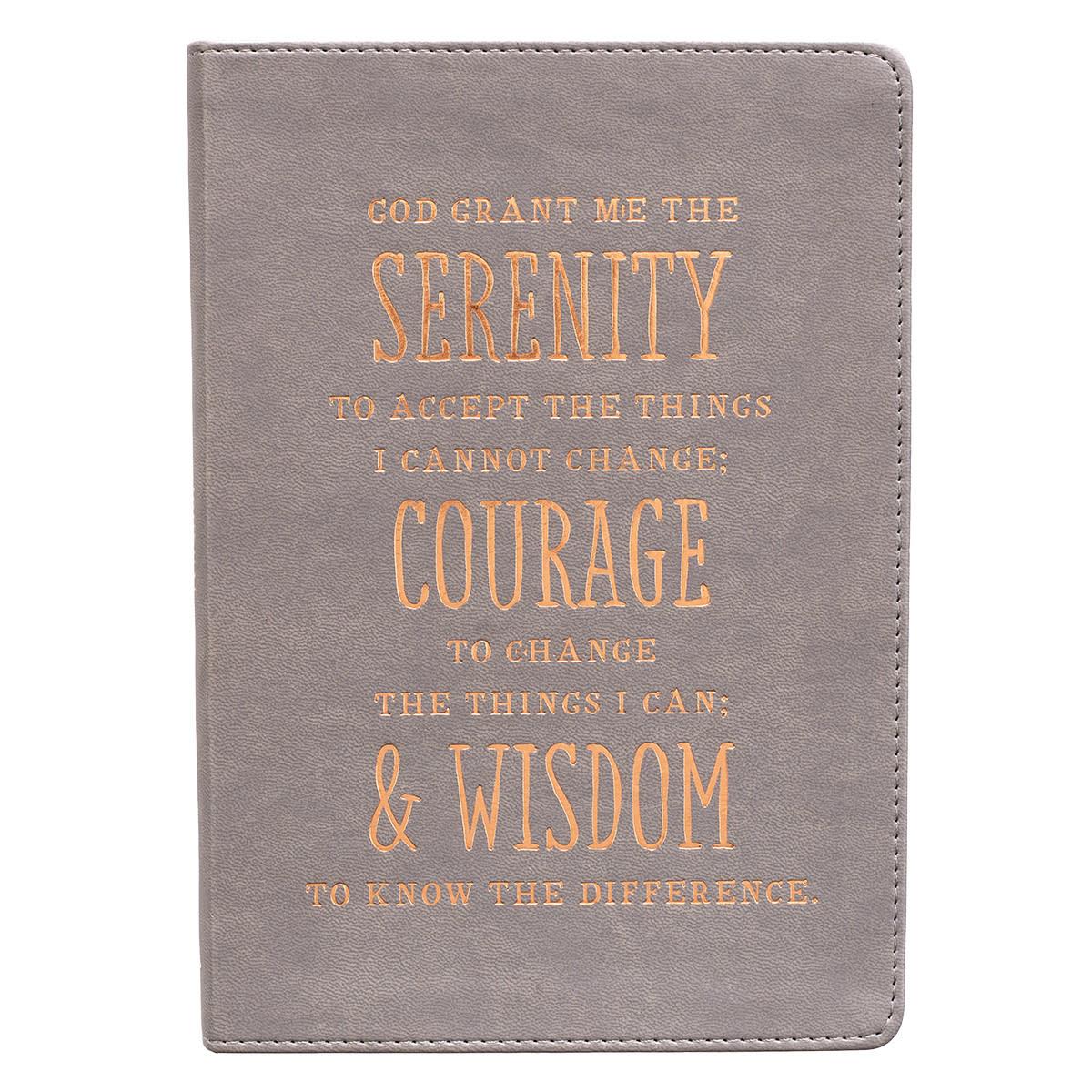 Classic Serenity Prayer Journal
