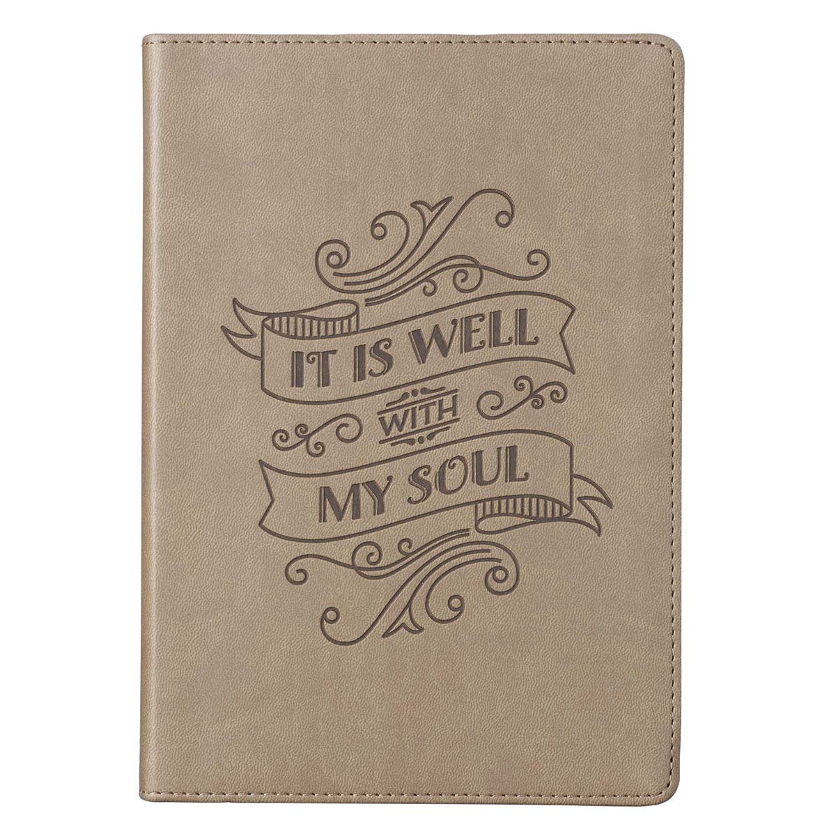 Journal Classic Brown Well With My Soul