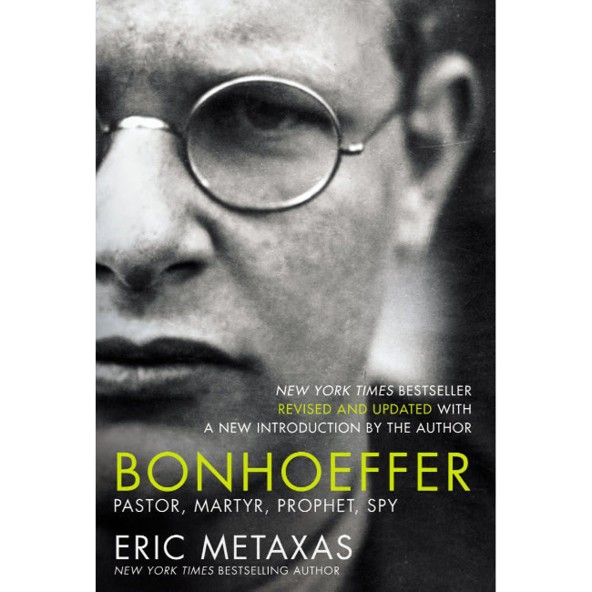 Eric Metaxas Bonhoeffer