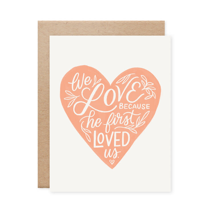 First Loved Us Card