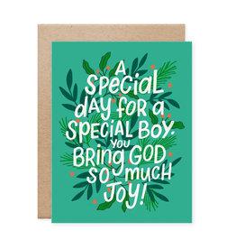 Special Boy Birthday Card