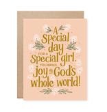 Special Girl Birthday Card