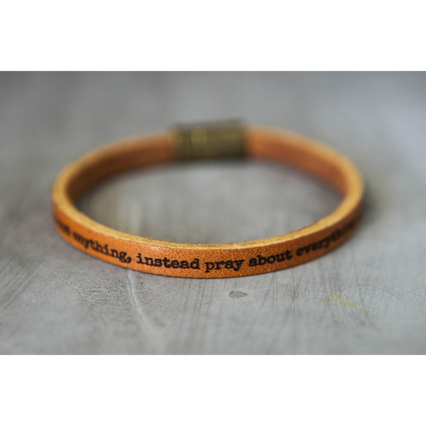 Cherished Leather Bracelet