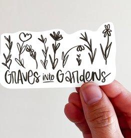 Graves Into Gardens Vinyl Sticker