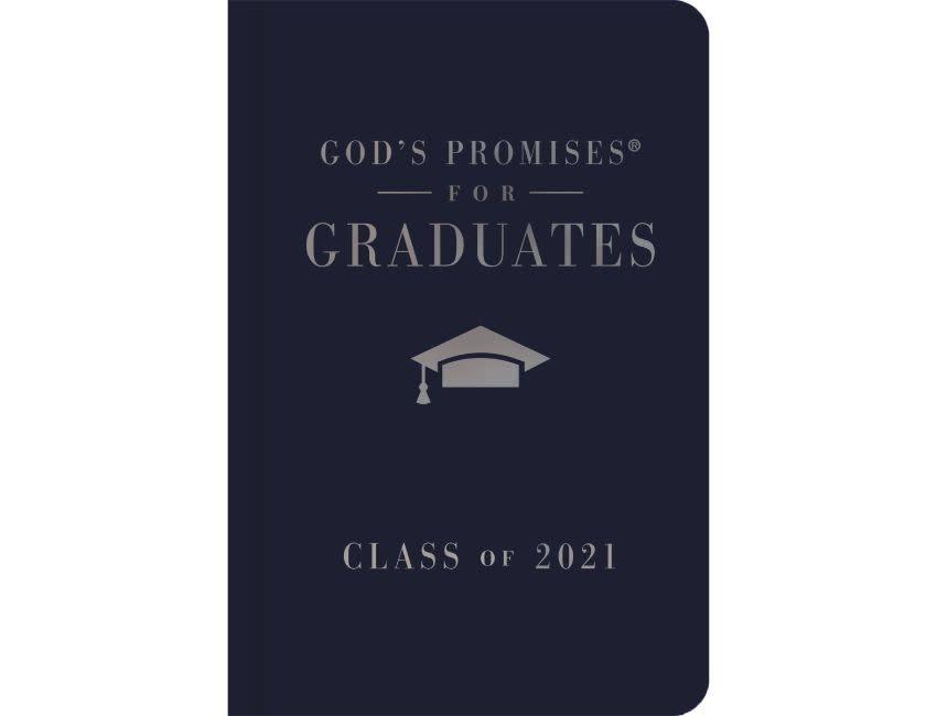 Jack Countryman God's Promises for Graduates: Class of 2021 - Navy NKJV