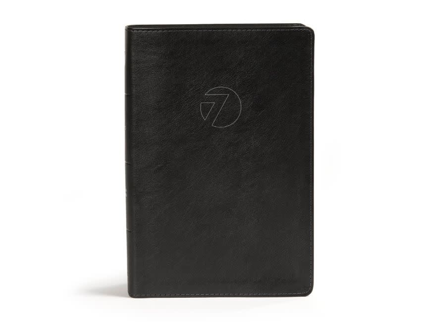 CSB Seven Arrows Bible - Black Leathertouch