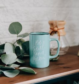 Be Still and Know Tall Campfire Mug