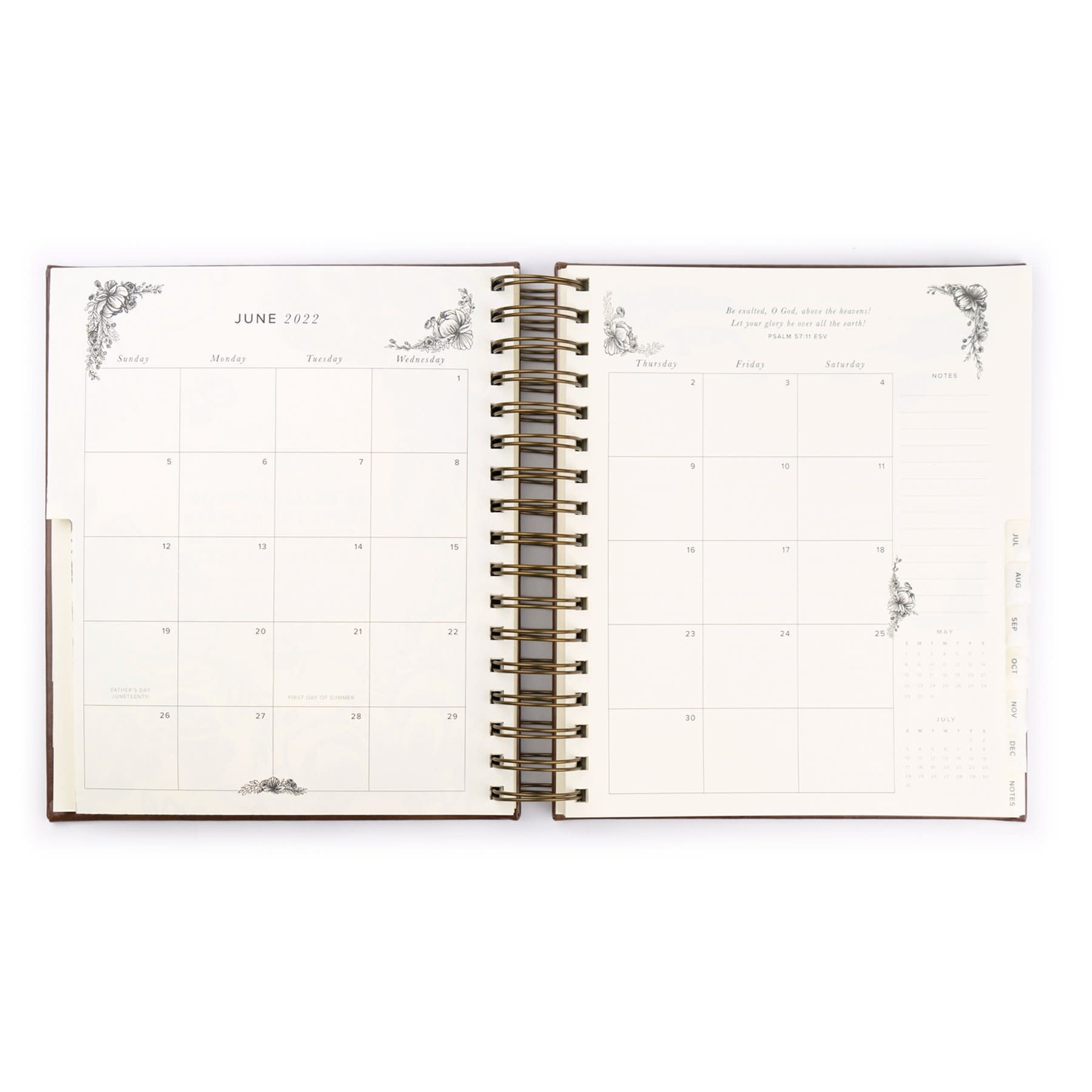 2021-2022 17 Month Planner - Yorkshire Theme
