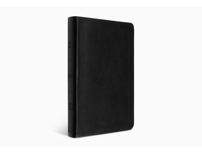 ESV Large Print Value Thinline Bible - Trutone, Black