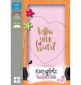 NIV Faithgirlz Backpack Bible - Pink