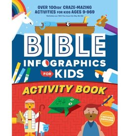 Bible Infographics for Kids Activity Book: Over 100-Ish Craze-Mazing Activities for Kids Ages 9 to 969