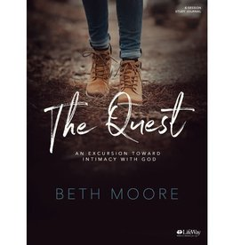 Beth Moore The Quest - Study Journal: An Excursion Toward Intimacy with God