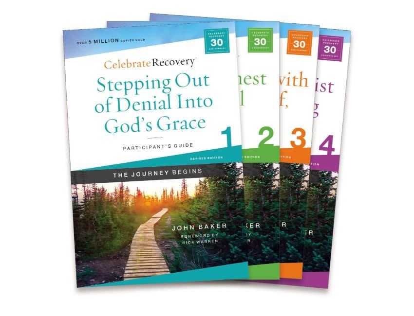 John Baker Celebrate Recovery Updated Participant's Guide Set, Volumes 1-4