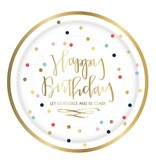 Happy Birthday Plates 8pk
