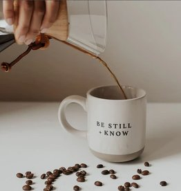 Be Still + Know Coffee Mug