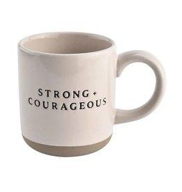 Strong + Courageous Coffee Mug