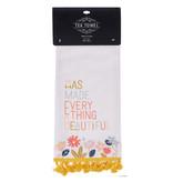 Everything Beautiful Cotton Tea Towel - Ecclesiastes 3:11