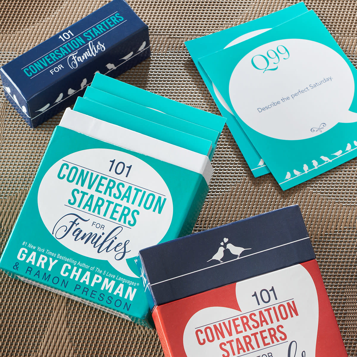 101 Conversation Starters for Families