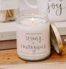 Strong + Courageous Soy Candle