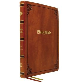 KJV, Thinline Large Print Bible, Vintage Series, Leathersoft, Tan, Red Letter, Comfort Print