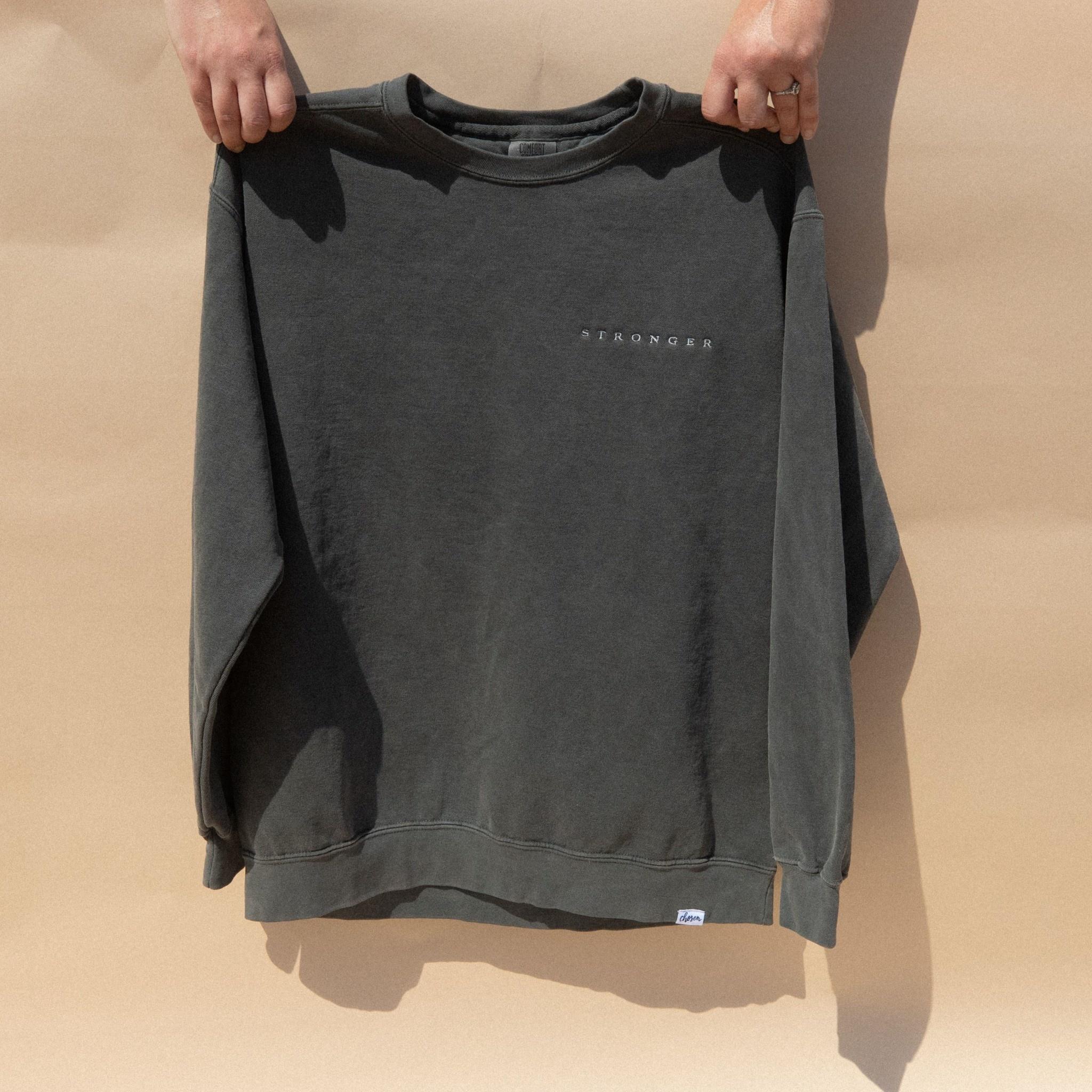 Stronger Sweatshirt - Pepper
