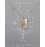 It is Well Hymn Necklace
