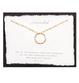 Surrounded 14kt Gold Fill Necklace