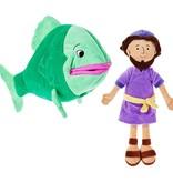 Jonah and the Big Fish Stuffed Doll Set