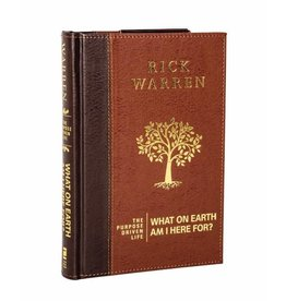 RICK WARREN The Purpose Driven Life: What On Earth Am I Here For - Leather Edition