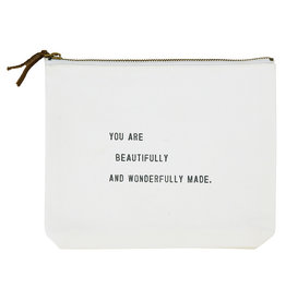 You Are Beautifully And Wonderfully Made Travel Pouch