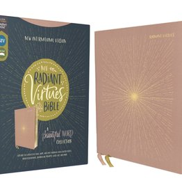 NIV, Radiant Virtues Bible: A Beautiful Word Collection, Cloth over Board, Pink, Red Letter, Comfort Print
