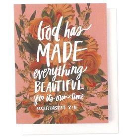 God Has Made Single Card