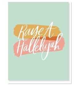 Raise A Hallelujah Greeting Card