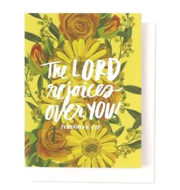 The Lord Rejoices Single Card