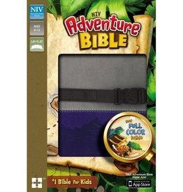 NIV Adventure Bible - Gray/Blue