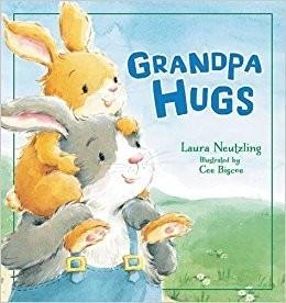Laura Neutzling Grandpa Hugs