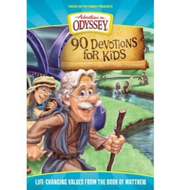 Adventures In Odyssey 90 Devotions For Kids