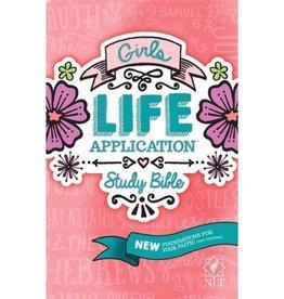 NLT Girls Life Application Study Bible - Softback