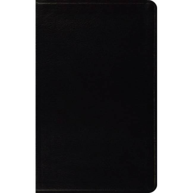 ESV Thinline Bible - Bonded Leather Black