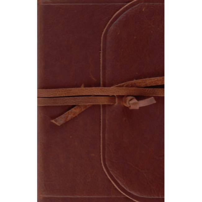 ESV Thinline Bible - Natural Leather