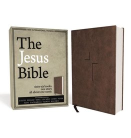 The Jesus Bible - Brown Leather