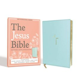 The Jesus Bible - Blue Leather