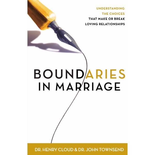 JOHN TOWNSEND Boundaries In Marriage
