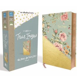 NIV True Images Bible - Turquoise/Gold