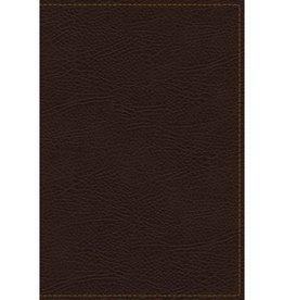 THE KING JAMES BIBLE - BROWN BONDED LEATHER INDEXED