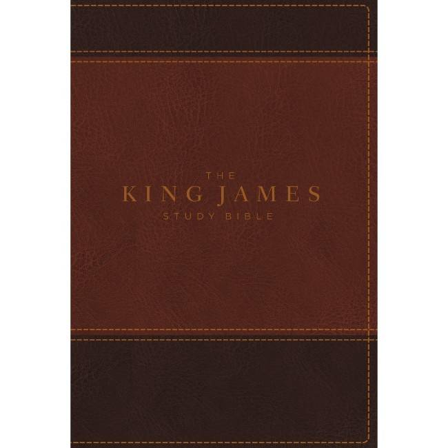 The King James Bible - Brown Leathersoft Indexed