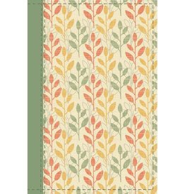 NIV Cultural Backgrounds Large Print Study Bible - Sage/Leaves