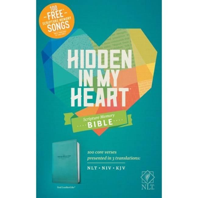 Hidden In My Heart NLT Scripture Memory Bible